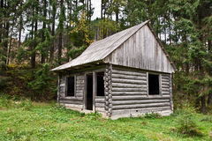Abandoned wooden house Stock Photos