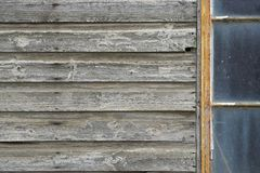 Abandoned Wooden Outbuilding Royalty Free Stock Photo