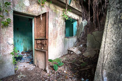 Free Abandoned World War II Building, Hong Kong Royalty Free Stock Image - 38885976