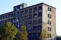Abandonend byggnad i centrala berlin Royaltyfria Foton
