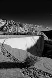 Abandonet marble quarry Stock Images