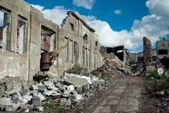 abandonfabrik Royaltyfri Fotografi