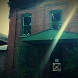 Abandonné à la maison Photo stock