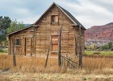 Abandonné à la maison, Torrey, Utah Image libre de droits