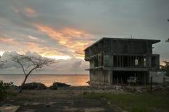 Abandonné à la maison, voyage Photographie stock libre de droits