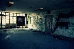 Abandonné construisant 8 Images libres de droits