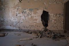 Abandonné construisant 14 Photos libres de droits