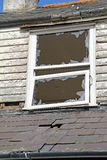 Abandonné détruit abandonné à la maison Images libres de droits
