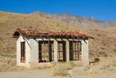 Abandonné dans le désert Photographie stock libre de droits
