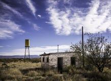 Abandonné dans le Texas occidental Images libres de droits