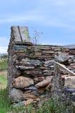 Abandonné dans Snowdonia Photos stock