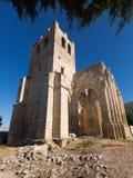 Abandonné de l'église de Santa Eulalia Image stock