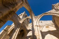 Abandonné de l'église de Santa Eulalia dans Palenzuela Photographie stock libre de droits