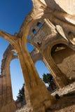 Abandonné de l'église de Santa Eulalia dans Palenzuela Photos stock
