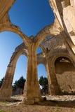 Abandonné de l'église de Santa Eulalia Palenzuela Photographie stock
