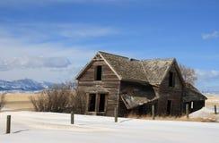Abandonné sur la prairie Photographie stock libre de droits