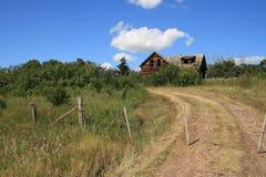 Abandonné sur la prairie Photographie stock