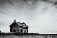 Abandonné sur les prairies Images libres de droits