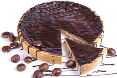 Abandonne le gâteau au goût âpre Images stock