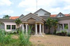 ABANDONNE siedziba głowa państwa LAURENT GBABGO Obrazy Royalty Free