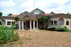 ABANDONNE siedziba głowa państwa LAURENT GBABGO Obraz Royalty Free