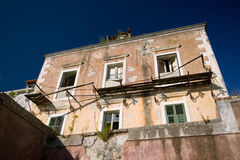 Abandonned Building. A gorgeous abandonned building in southern Croatia royalty free stock images