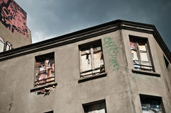 Abandonned Gebäude Lizenzfreies Stockfoto