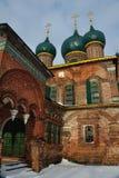 abandonned kyrklig gammal ryss Royaltyfria Bilder