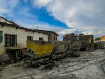Abandonned mines in Potosi, Bolivia Stock Image