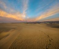 Abandonnez dans mamie Canaria, dunas de maspalomas photo stock