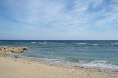 Abandonnez la baie dans la région de la Mer Rouge, Egypte Images stock