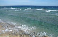 Abandonnez la baie dans la région de la Mer Rouge, Egypte Image libre de droits