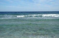 Abandonnez la baie dans la région de la Mer Rouge, Egypte Photo libre de droits