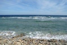 Abandonnez la baie dans la région de la Mer Rouge, Egypte Photographie stock libre de droits