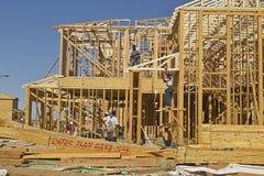 Abandonnez la construction de nouvelles maisons en Clark County, Las Vegas, nanovolt Photo stock