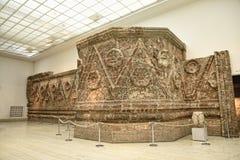 Abandonnez la façade de palais dans le musée la ville de Berlin Germany Photos stock