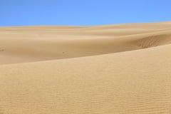 Abandonnez le fond de texture de modèle de sable du sable dans la dune Images libres de droits