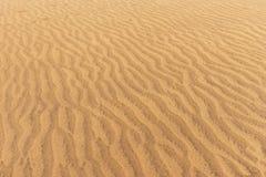 Abandonnez le fond de texture de sable de dunes dans mamie Canaria de Maspalomas Image stock