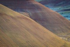 Abandonnez les formes et les couleurs, collines peintes, Orégon Photo stock