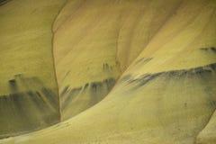 Abandonnez les formes et les couleurs, collines peintes, Orégon Images libres de droits