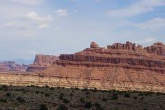 Abandonnez les montagnes Image libre de droits