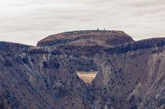 Abandonnez les sables du volcan de Teide dans Ténérife, Espagne Photographie stock libre de droits