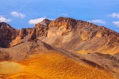 Abandonnez les sables du volcan de Teide dans Ténérife, Espagne Photographie stock