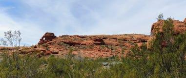 Abandonnez les vues panoramiques des sentiers de randonnée autour de St George Utah autour de Beck Hill, de Chuckwalla, de mur de Photographie stock libre de droits