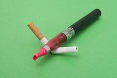 Abandono de fumar Foto de archivo libre de regalías
