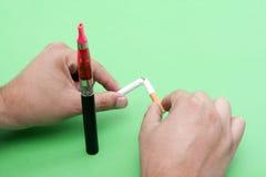 Abandono de fumar Fotos de archivo