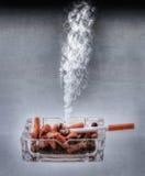 Abandono de HDR que fuma Foto de archivo