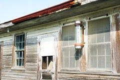 Abandono de Luisiana Foto de archivo