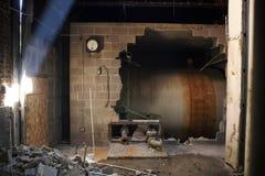 Abandono de Warehouse Fotos de archivo libres de regalías