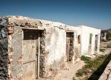 Abandono que construye España Foto de archivo